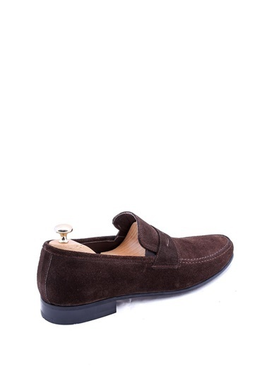 Wessi Erkek Süet Babet Klasik Ayakkabı Kahve